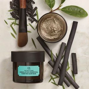 NEW The Body Shop Face Masks Matcha Rose Charcoal